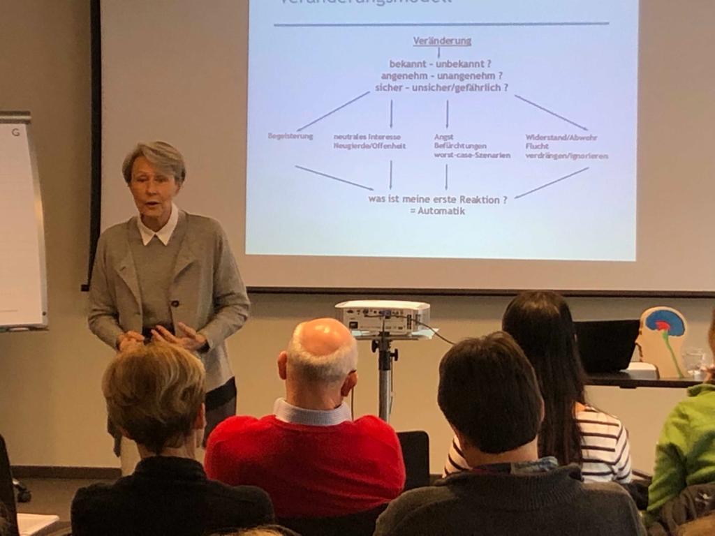 Vortrag - neurobiologisches Veraenderungsmanagement fuer Aerzte